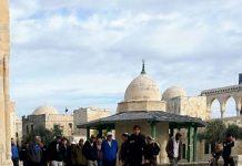 Imigran Ilegal Yahudi Nodai Masjid Al-Aqsa.