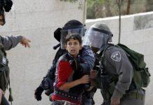 Tentara Israel menangkap Bocah Palestina