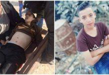 Potret Ali Abu Alia saat peluru tajam penjajah Isael menembus perutnya