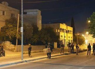 Bentrokan Pejuang Palestina dan tentara Israel di Jenin, Palestina