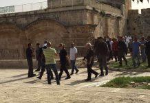 Imigran ilegal Yahudi Nodai Masjid Al-Aqsa