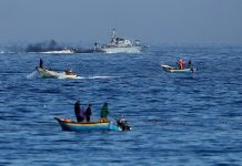TIga Nelayan Terbunuh di Perairan Gaza