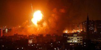 Angkatan Udara Israel Sasar Gaza, Balas Serangan Pejuang Palestina